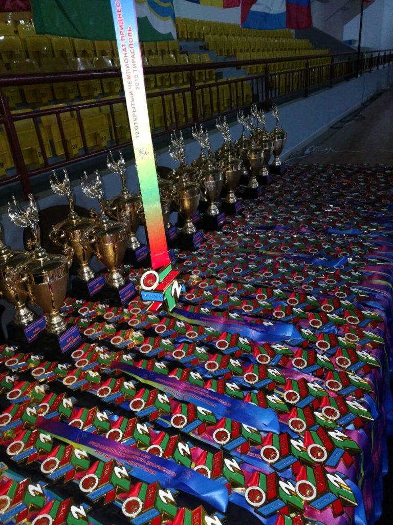 В Тирасполе прошёл 12 чемпионат Приднестровья по каратэ