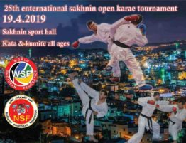 25th enternational Sankhnin openkarate tournament