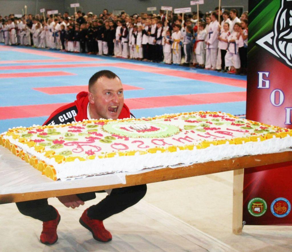 Открытый Чемпионат по Каратэ посвящённый 43-й годовщине клуба Богатырь.